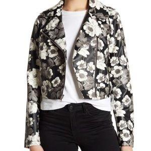 NWT Sam Edelman   faux leather jacket